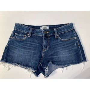 PAIGE Catalina denim shorts